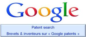 Moteur de recherche des brevets et inventeurs sur Google