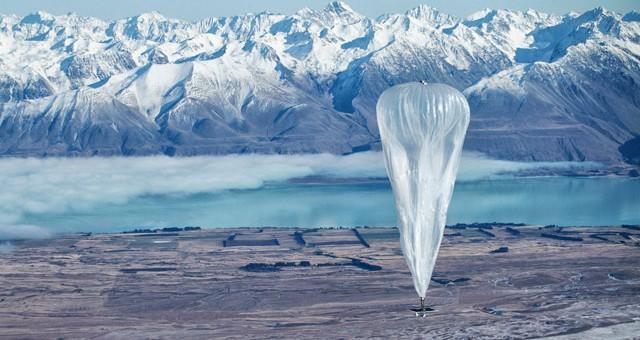 projet Loon ballons internet de google